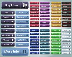 button designer button collection 02 buy upload search button