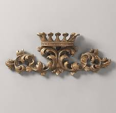Crown Wall Decor at Home and Interior Design Ideas