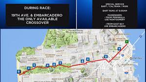 san francisco land use map tens of thousands to run across sf in 106th bay to breakers sunday