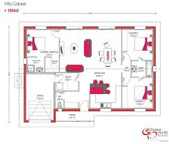 plan maison 100m2 3 chambres plan de maison 100m2 3 chambres bricolage systembase co 0 scarr co