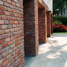 brick wall cladding stone outdoor indoor terrakotta