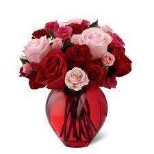 valentines day flowers my heart to yours bouquet at send flowers