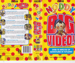 noddy big video video vhs pal video rare ebay