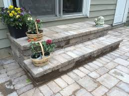 Large Pavers For Patio Paver Brick Patios And Walkways