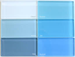 Blue Glass Tile Kitchen Backsplash Glass Tile Blends Modwalls Fresh Tile In Colors You Crave