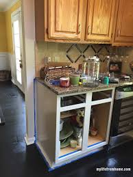 photos of painted cabinets diy how i painted my kitchen cabinets my life from home