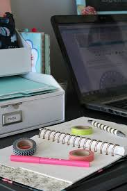 Organizing An Office Desk Small Desk Organization Ideas Clean And Scentsible