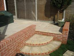 peachy design brick patio wall designs fireplace built in