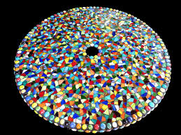 Outdoor Table Lazy Susan by Large Mosaic Stained Glass Outdoor Patio Table Lazy Susan Custom Order