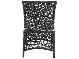 Zuo Outdoor Furniture by Zuo Outdoor Santa Cruz Aluminum Wicker Chair Terra In Brown 703818