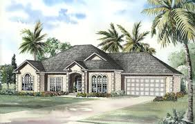 Florida Home Plans With Pictures Florida Home Plan With Private Office 59169nd Architectural