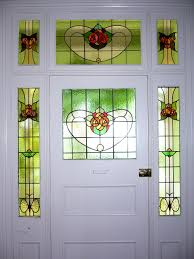 front door leaded glass many federation c 1900 1915 homes and early californian