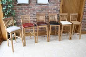 oak wood bar stools oak bar stools kitchen stools tall oak breakfast bar stools