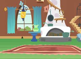 cartoon apartment livingroom interior house room stock vector