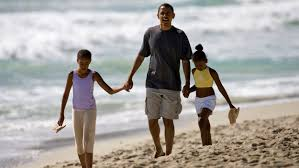 Obama S Vacation President Obama Praises Daughters In Final Press Conference