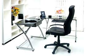 office max l shaped desk glass l shaped desk luxury glass l shaped office desk s l shaped