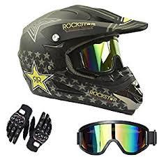 motocross helmet amazon com myheartgoon motocross helmet dirtbike racing helmet