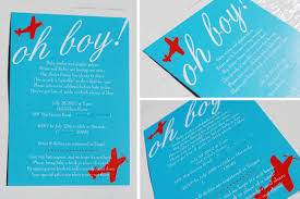 photo airplane baby shower invitation image