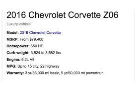 chevrolet corvette z06 specs 2017 corvette z06 raffle to benefit st of the knobs catholic