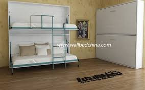 wall bunk bed double decker hidden wall bed view folding wall bed