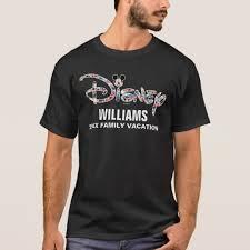 disney logo mickey friends family vacation t shirt zazzle