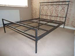 metal double bed frame sonicloans bedding ideas