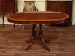 round pedestal table with leaf modern round pedestal dining