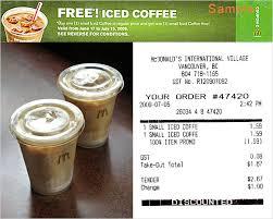 Iced Coffee Mcd starbucks free iced coffee vs mcdonald s free iced coffee cheap