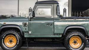 kahn land rover defender kahn design customizes the land rover defender pick up