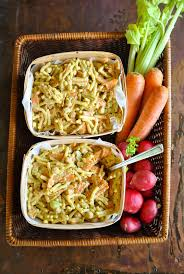 Creamy Pasta Salad Recipes by Creamy Pasta Salad With Crunchy Carrots And Chickpeas Vegansandra