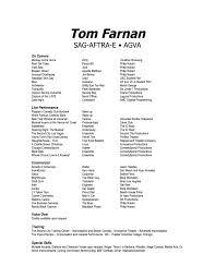Verizon Resume Resume U2013 Tom Farnan