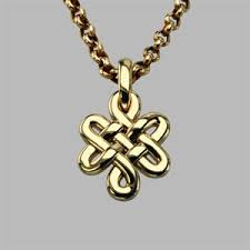 bespoke gold jewellery bespoke celtic knot pendant in 9ct yellow gold custom made