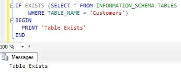 T Sql Drop Table If Exists How To Check If A Table Exists In Sql Server Sqlhints Com