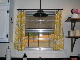 Yellow Kitchen Curtains Valances Yellow And White Kitchen Curtains Cottage Check Curtain Valances