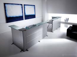 Metal Reception Desk Reception Desk Della Rovere Edison Reception