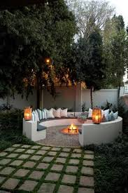 Images Of Backyard Fire Pits by Best 25 Outdoor Seating Areas Ideas On Pinterest Garden Seating