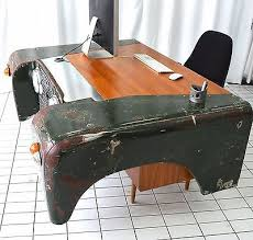 Office Desk Parts Land Rover Office Desk Custom Bespoke Up Cycled Car Furniture