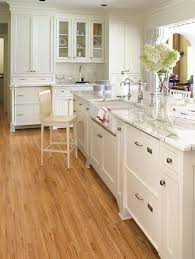 white kitchen cabinets wood floors white kitchen cabinets with light wood floors page 1