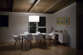 cute mid century modern chandelier in interior home design style