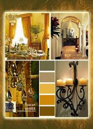 Choosing Tuscan Wall Colors Tuscan Decorating Colors Are Warm - Gold wall color living room