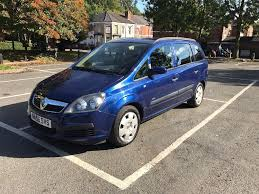 vauxhall zafira life 1 6 l petrol manual 7 seater in derby