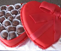 valentines chocolates s chocolate box cake 11 steps with pictures