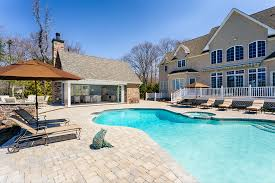 pool houses swimming with style annapolis home lundberg1 idolza