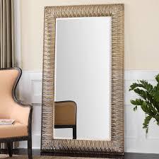 uttermost aldric oversized gold mirror 42w x 72h in hayneedle