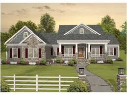ranch home plans with front porch single house plans with front porch home deco plans
