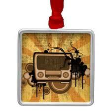retro radio ornaments keepsake ornaments zazzle