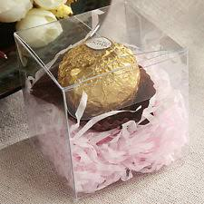 candy containers for favors clear favor boxes ebay