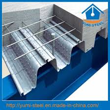 Yumi Floor L China Building Material Galvanized Corrugated Decking Floor Plate