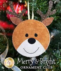 merry u0026 bright ornament club pre fused laser cut
