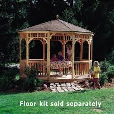 wooden gazebo kits and pavillion kits outsidemodern